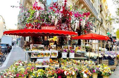 巴黎花店 最美